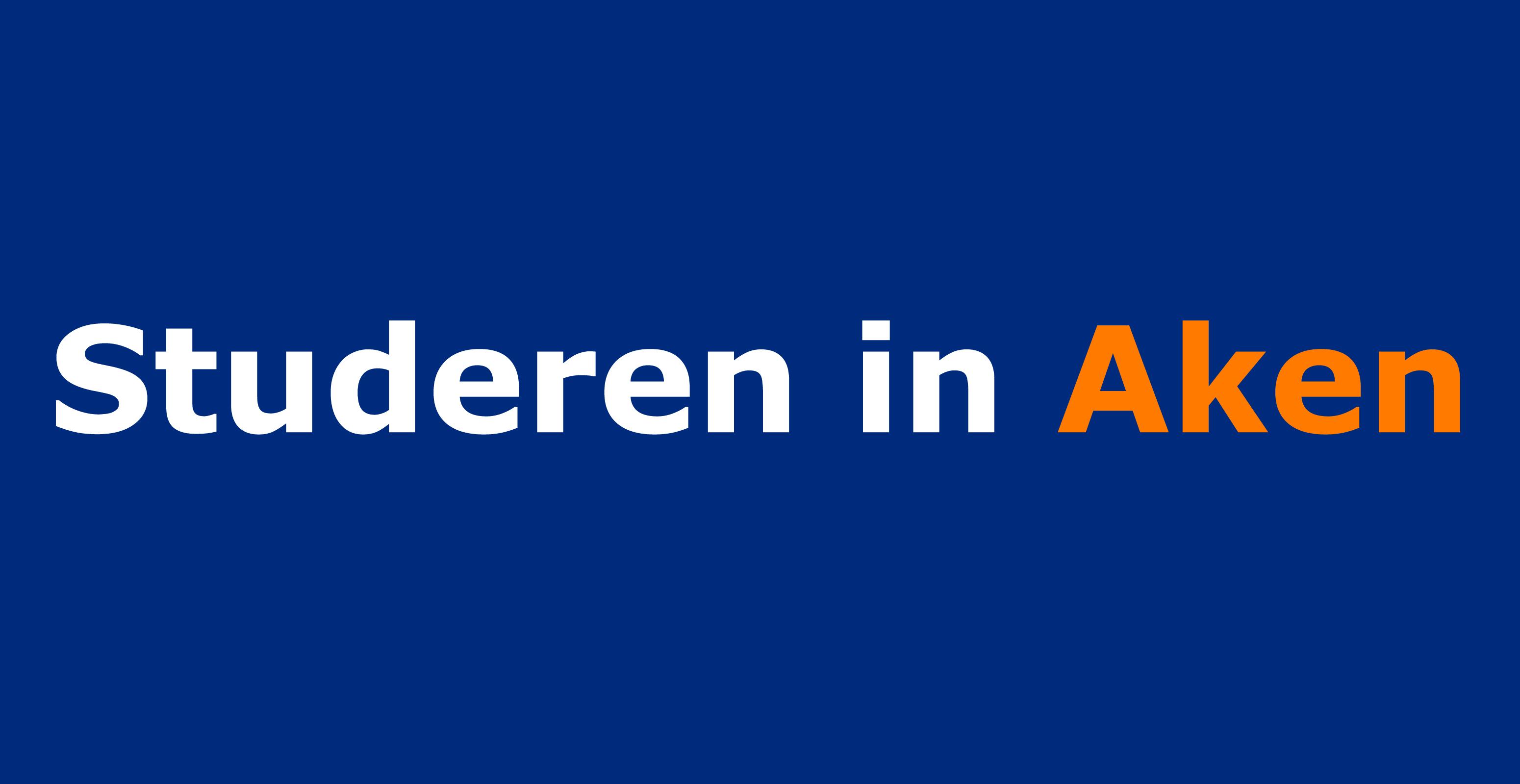 Logo Studeren in Aken