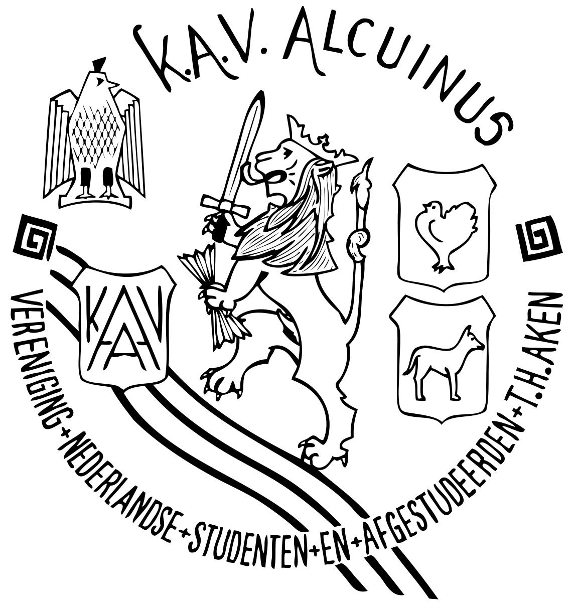 Logo K.A.V. Alcuinus